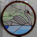 Swan circlet by Ryaskgoldengryph