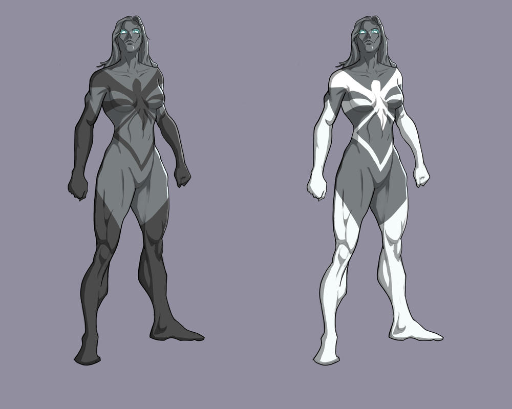 Spider Woman redesign by MTF40