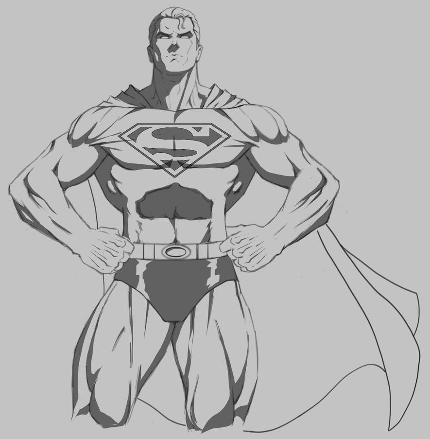 Superman by MTF40