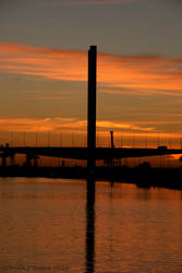 Sunset over the Bolte Bridge IMG_1468 by MrYJDrake