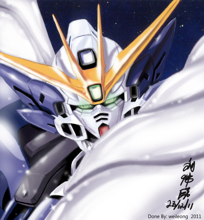 W-Gundam Zero custom by ppleong
