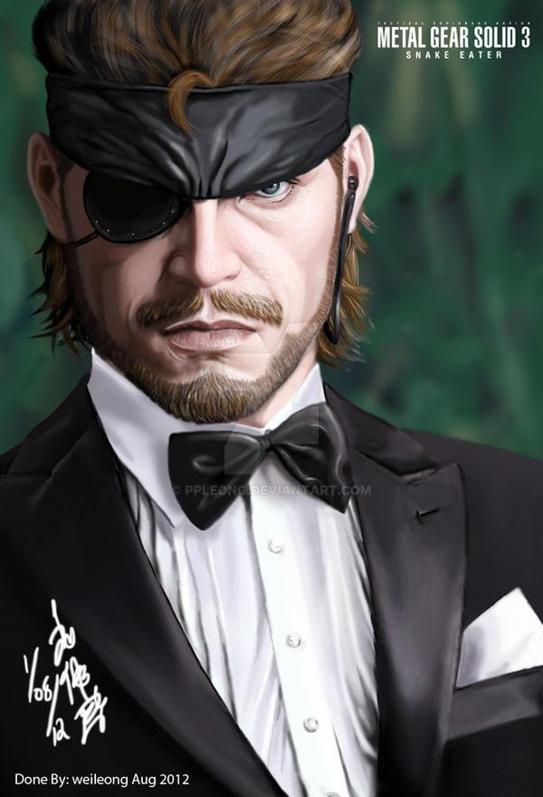 Naked Snake Big Boss In Tuxedo By Ppleong On Deviantart-4373