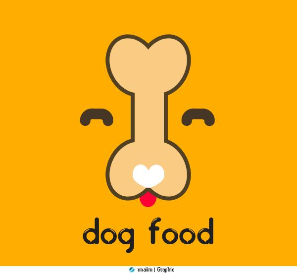 Dog Food -  Logo by ex-works1