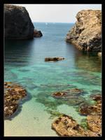 Belle Isle - Calm Water by philcopain