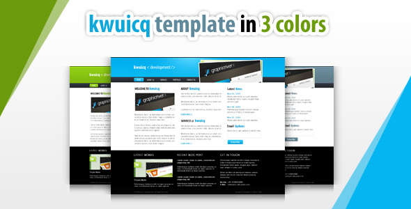 kwuicq html corporate template by settysantu