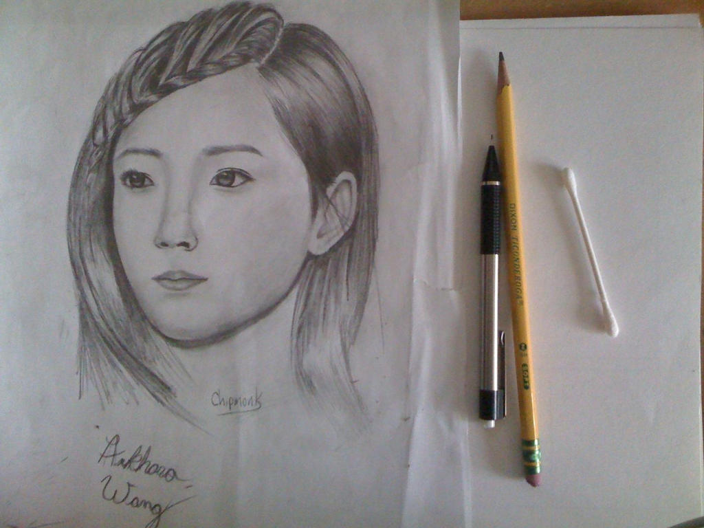 Tae Yeon sketch 2 by Arkhora-Wang