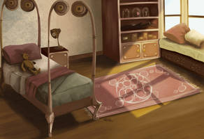 Flossie's Bedroom by Nicacolalite