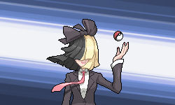 You are challenged by Gym Leader Sia!