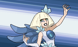 You are challenged by Gym Leader Lady Gaga! by Levaine