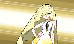 You are challenged by Aether President Lusamine! by Levaine