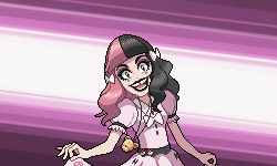 You are challenged by Gym Leader Melanie Martinez! by Levaine