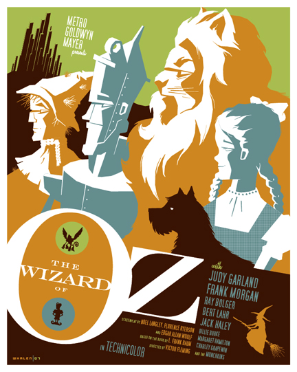 Wonderful Illustration of the Wizard of Oz