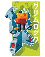 grimlock poster by strongstuff