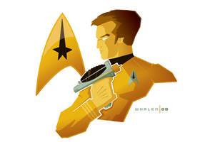 captain kirk minibust by strongstuff