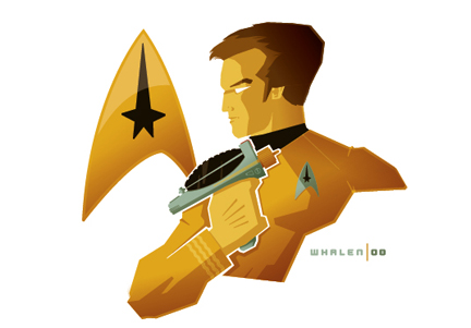 captain kirk minibust by strongstuff