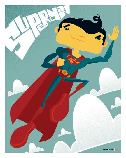 kid superman by strongstuff