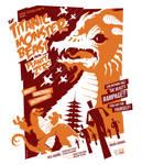titanic monster beast poster