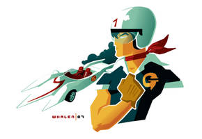 speed racer minibust