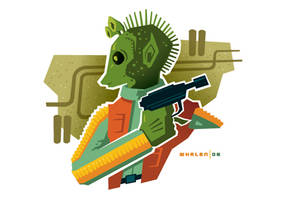 greedo minibust by strongstuff