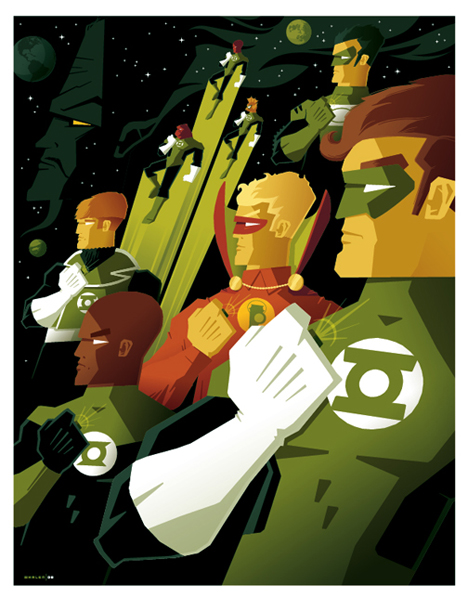 green lantern corps commission