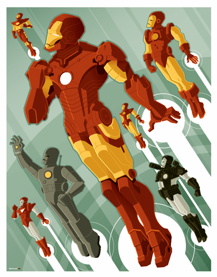 iron man corps commission