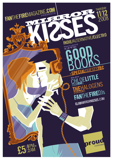 Mirror kisses flyer by strongstuff on deviantart for Mirror kisses