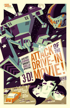 attack of the drive-in movie
