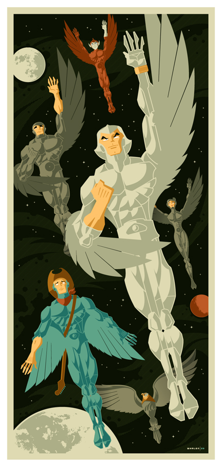 silverhawks commission by strongstuff