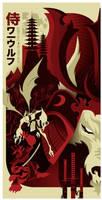 samurai werewolf poster