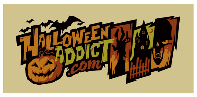 halloween addict logo by strongstuff