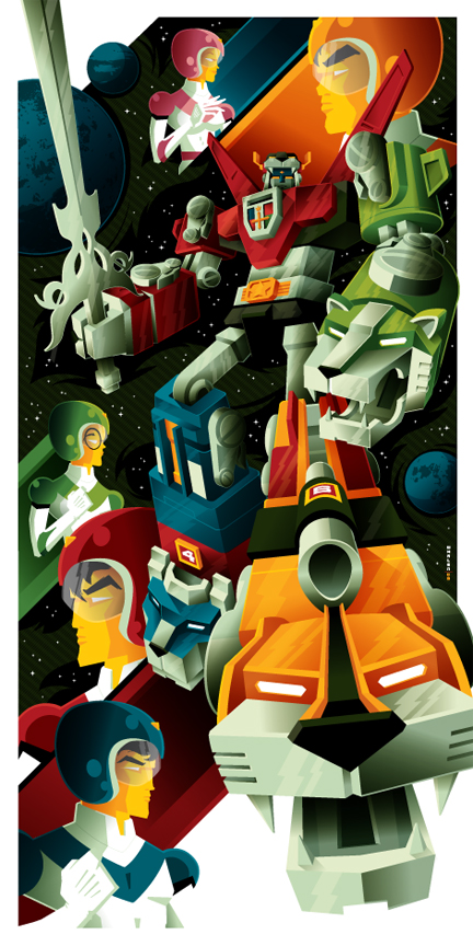 voltron commission by strongstuff