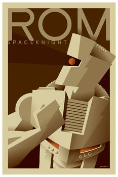 rom tribute poster