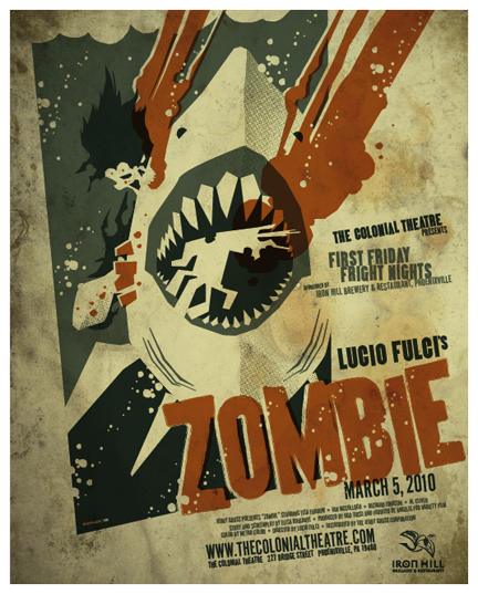 zombie poster