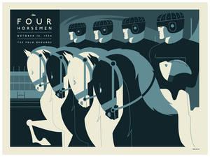 four horsemen poster