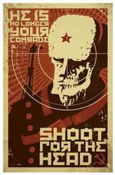 comrade zombie pinup