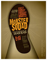 monster squad poster by strongstuff