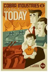 cobra propaganda poster
