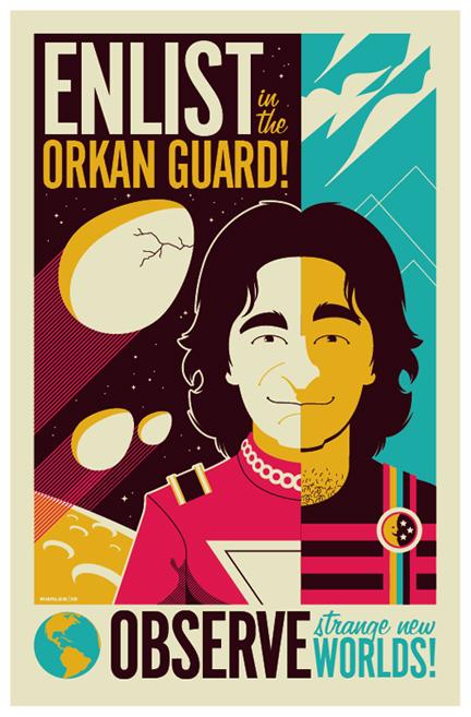 mork poster by strongstuff