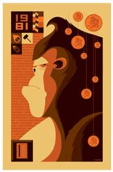 '1981' donkey kong poster by strongstuff