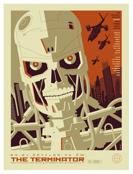 terminator poster by strongstuff