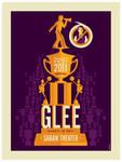 paleyfest: glee poster