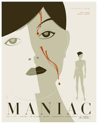 maniac poster by strongstuff