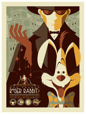 mondo: roger rabbit by strongstuff