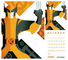 nicktoons: wolverine + x-men by strongstuff