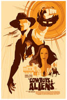 mondo: cowboys + aliens by strongstuff