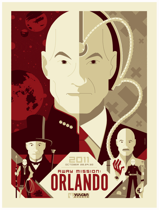 patrick stewart event poster by strongstuff