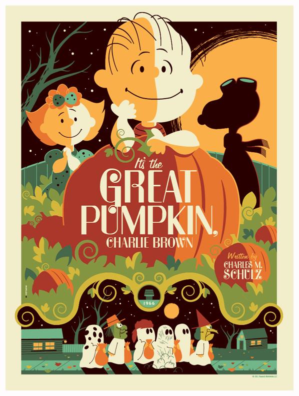 peanuts: great pumpkin