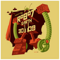 robot earth 3009 t-shirt