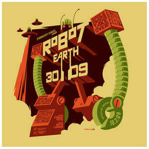 robot earth 3009 t-shirt