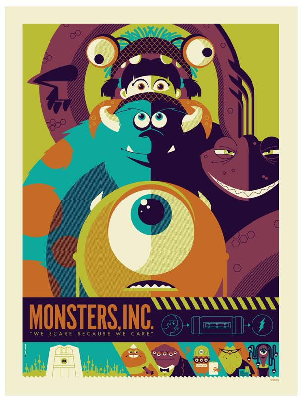 mondo: monsters inc. var by strongstuff